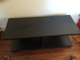 Ikea coffee table or audio-video table in brown