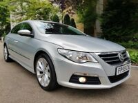 WOLKSVAGEN PASSAT CC 2.0 TDI SPORT AUTOMATIC FULL SERVICE HISTORY CAMBELT KIT DONE PERFECT CONDITION