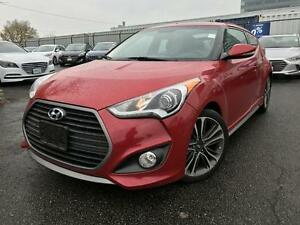 2016 Hyundai Veloster Turbo 1.6T Turbo DCT, Pano Sunroof, Leathe