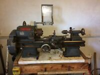 Boxford metal work lathe for sale