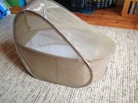 Koodi pop-up travel bassinet - nearly new