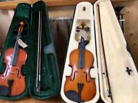 Violins & guitar. CHRISTCHURCH