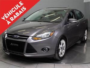 2014 Ford Focus TITANIUM MAGS TOIT OUVRANT CUIR NAVIGATION
