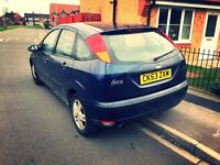 Ford Focus Zetec, 2004, 1.6, 9 Months Mot, 5 Door, Full Electrics, Drives Excellent...