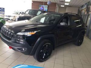 2017 Jeep Cherokee Trailhawk +Cuir, Hitch+