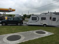 5 berth touring caravan 2009 Bailey Province series 7