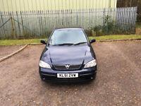 2001 Vauxhall Astra - 1 year MOT