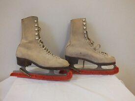 Ice skates, vintage women's