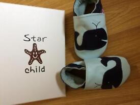 Star Child prewalker shoes 0-6months