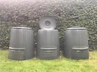 Composting Bins- dark green