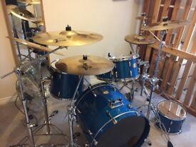 Pearl Export Drum Kit (no cymbals)
