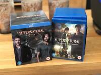 Supernatural season 1-9 blu-ray