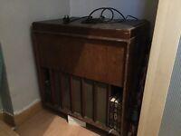 Vintage radiogram Marconiphone
