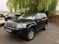 Land Rover Freelander 2 GS 2.2 TD4 4x4 Low Mileage FSH Black Leather Premium Sound System