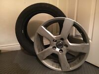 Volvo V50 R Design Alloy Wheel 17 with Tyre