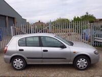 Nissan Almera 1.5 5dr★★★LOW MILEAGE★★★28,000 MILES★★★AIR CONDITIONING★★★
