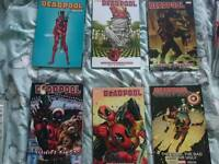 Collection of deadpool comics