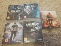 Ps3 call of duty bundle 5 games