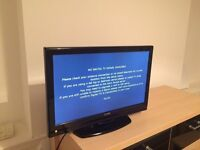 """Luxor LUX-22-822-COB 22"""" LCD Freeview TV with Built-in DVD Player - Black"""