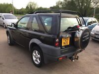 Automatic Diesel Land Rover Freelander—11 months mot,leather,ac,alloys,excellent runner,clean,vgc