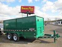 2014 CAM Superline 7TON 14ft DUMP TRAILER