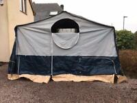 Comanche trailer tent canvas and poles