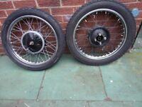 BSA Wheels A10