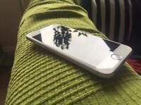 iPhone 6 silver 16gb factory unlocked