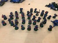 Large collection of high quality painted space marines