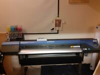 Roland VersaCamm print&cut 540 Eco solvent printer great condition