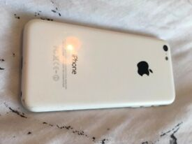 Apple Iphone 5C white, preowned in great condition, no box or charger.