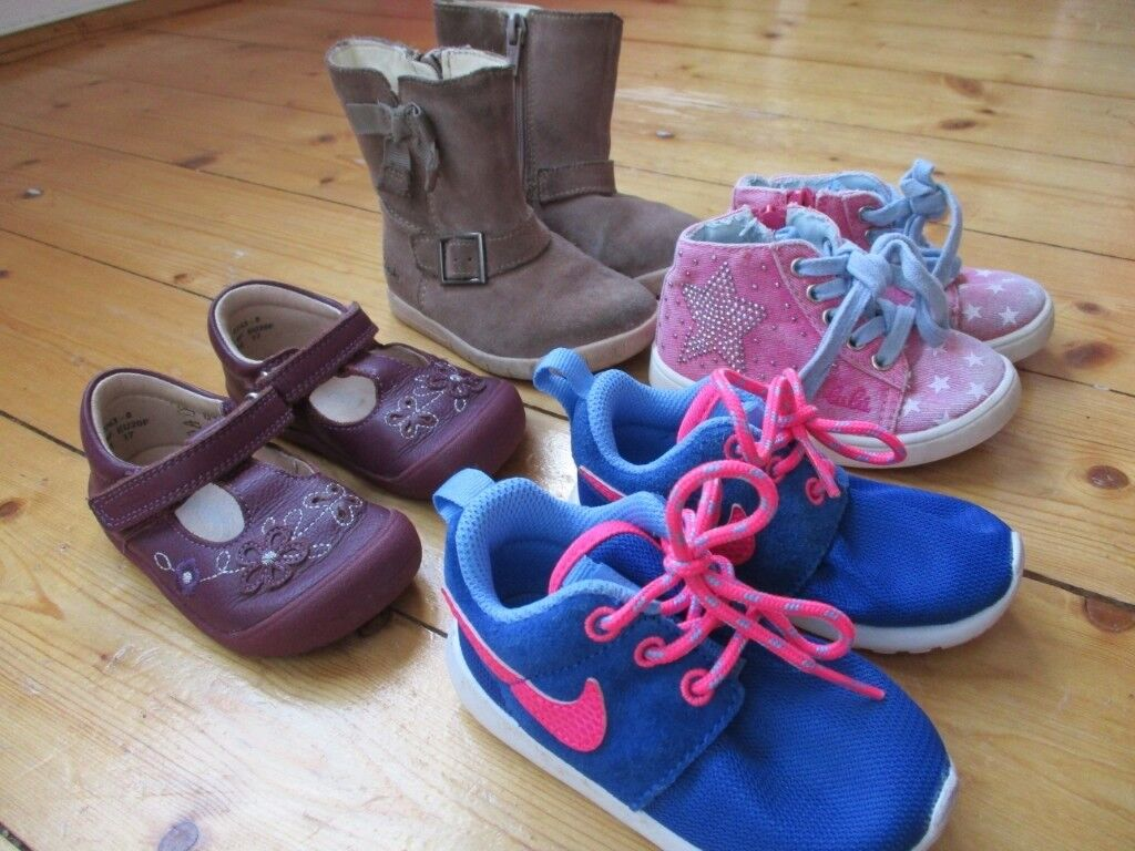 Shoe bundle for infant size 4 and 4.5 Clarks first shoe 8e0fe050b