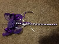 Flower girls wand bought but changed mind