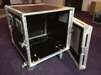 Flight Case on wheels 10U