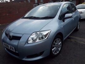 Toyota Auris 2008 Low Mileage 42000 full service history long Mot 22 keys drive excellent