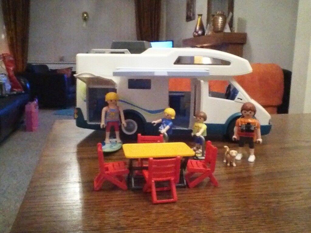 Playmobil summer campervan