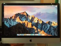iMac 27inch (Late 2013) i7 3.5GHz/16GB/GeForce 780M 4GB/1TB Fusion Drive