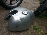 Aluminium petrol tank