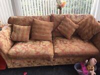 Duresta Suite 2 Armchairs 3 Seater Settee