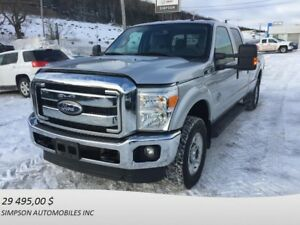 2012 FORD F-250 SUPER DUTY 4WD SUPERCAB 158'' WB