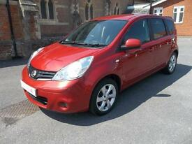 Nissan Note 1.6 Tekna 5dr Auto (emotion red) 2010