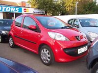 2007 Peugeot 107 ' 1.0 Urban ' 5 Door ' 79800 Miles ONLY ' CHEAP to Run ' Low Tax