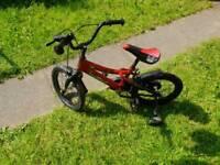 """Kids Boys 16"""" Last Exit Bike Bicycle"""