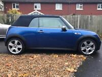 Stunning Mini Cooper S Convertible Low mileage