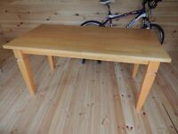 Solid Wood Table - (l)160x (d)85x (h)77