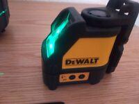 DEWALT 088CG cross green beam laser