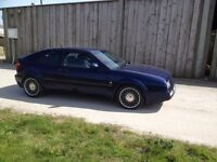 vw corrado, modern classic 1994, met blue, 12 months MOT