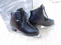 Jackson Marquis Black Ice/Figure Skates, box size 8, EUR 41.5, UK 7 (fit as 7.5/8)