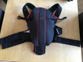 Babybjorn baby carrier and fleece cover