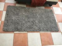 Small Grey Rug from Dunelm